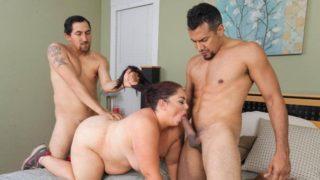 BBW trojice porno videa