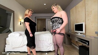 Chubby Mom Wibratory Hot Plump Curvy Sweetie In Motel Place