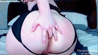 Scarlett Rose - Souffle d'orteil, prise de trou du cul, baise de vibrateur - Diffusion passée sur Chaturbate