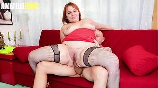 Amateur European – Hot Chubby Woman Kiara Rizzi Recieves Big Cock In The Ass Before The Lunch