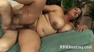 Hairy Latina Big Lovely Lady Pounding Male