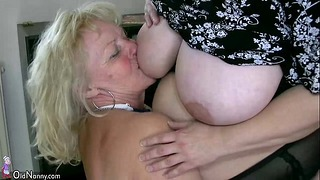 Oldnanny Hot Chubby Step Mature & Chubby Grandmother