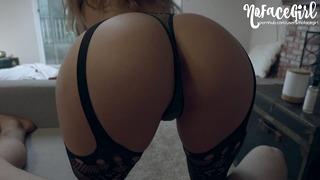 Jeune amateur chérie reçoit son cul baisée après un sexe doux - Nofacegirl