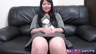 Thai Mature Aki Kitamura Sucks Asian Cock 6 Min