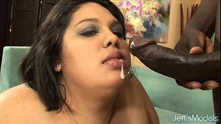 Chubby Ass Chubby Lorelai Givemore Takes Black Dick.